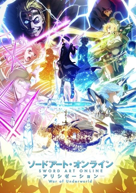 ソードアート・オンライン アリシゼーション War of Underworld 2期